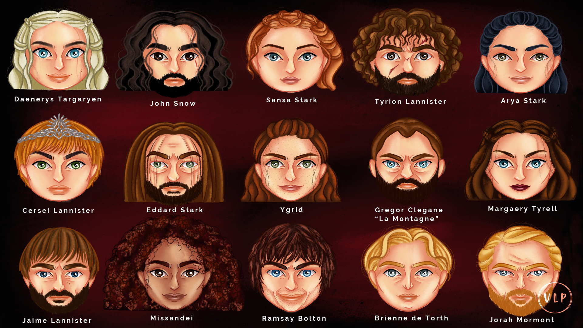 GAMES OF THRONES Name