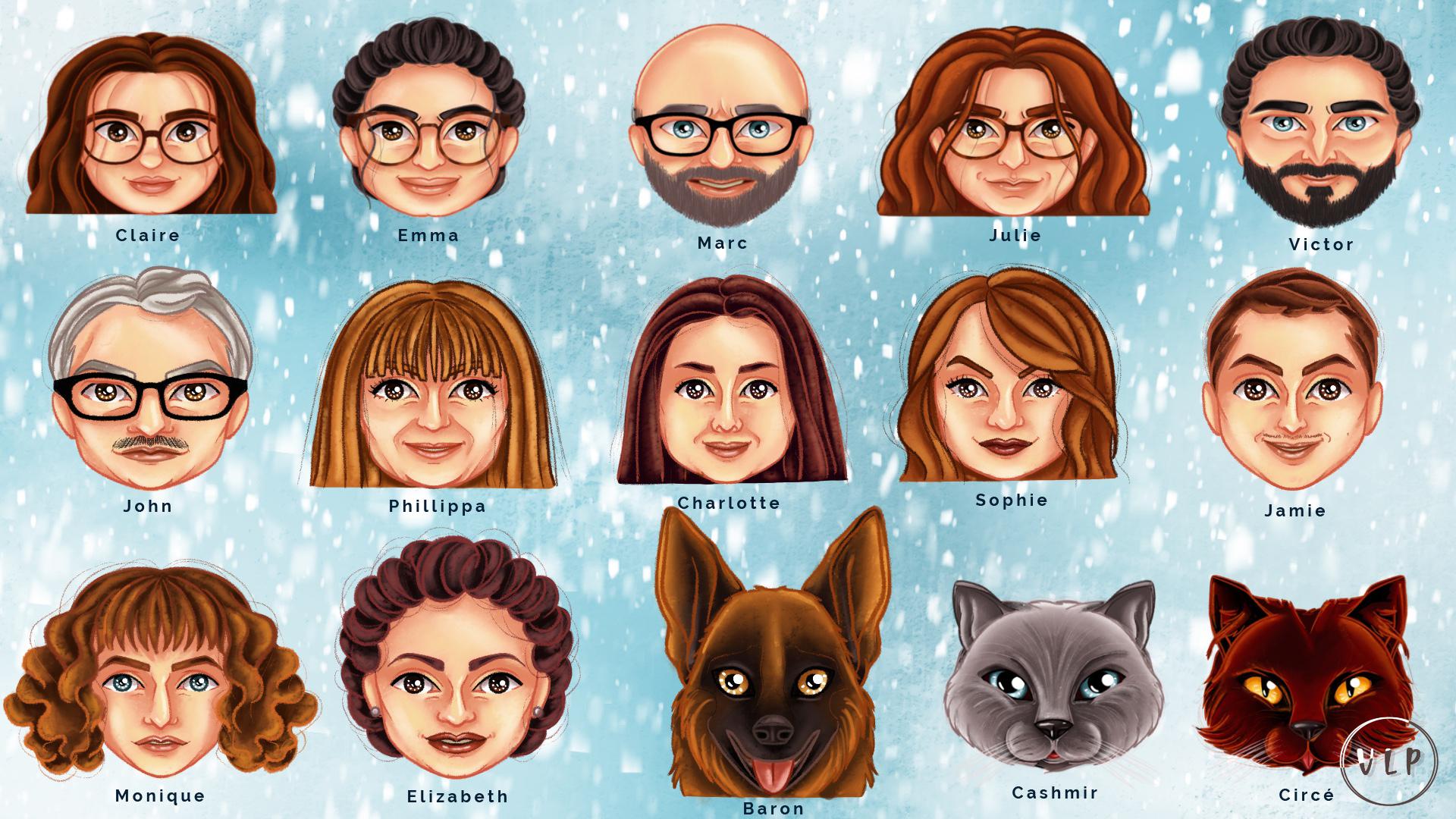 L&B Family Emoji Name